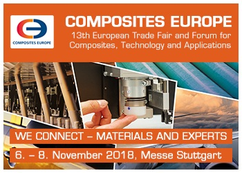 COMPOSITES EUROPE - 13th European Trade Fair & Forum for Composites, Technology and Applications