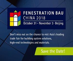 Fenestration Bau China 2018 Home