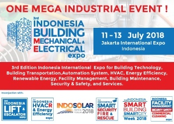 Indonesia Building Mechanical & Electrical Expo 2018