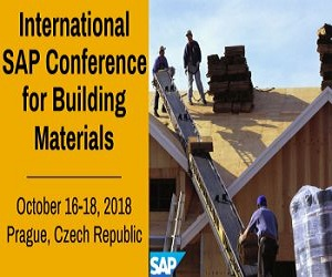 International SAP Conference for Building Materials Home
