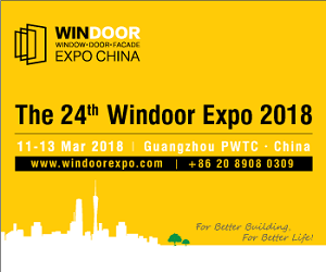 The first sourcing event for window, door and facade products in China