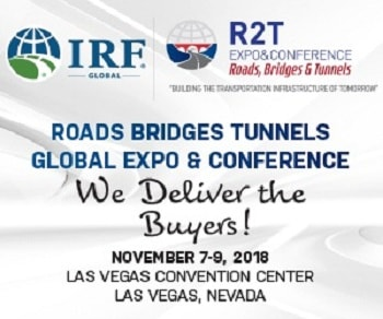 IRF Global Road2Tunnel Expo & Conference