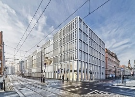 Skanska invests EUR 52 M, about SEK 540 M, in the first phase of an office project in Wroclaw, Poland