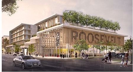 Som Wins Design Competition For New Co Located Chicago Housing Authority And Public Library Branch World Construction Today