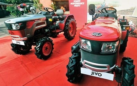 Mahindra Launches JIVO - A New Small Tractor Platform