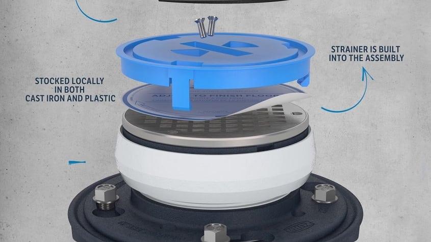Innovation and Efficiency: Zurn Introduces EZ1™ Floor Drain