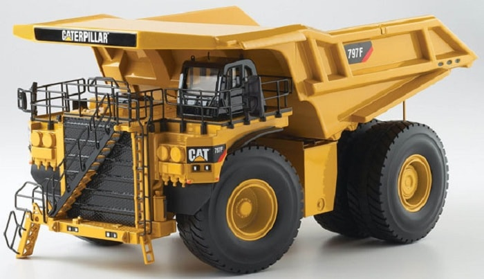 Cat 797F truck now available in Tier 4 Final configuration