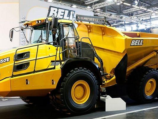 Bell MTU engines Truck