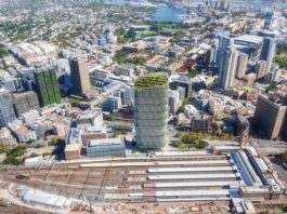 The World's Tallest Hybrid Timber Tower is Under Construction in Sydney, Australia