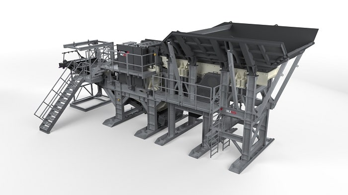 The Cedarapids introduccing MJ55 Modular Jaw Crusher for Construction Industries