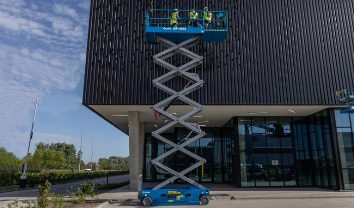 Genie Unveils E-Drive for GS Slab Scissor lifts for construction industry
