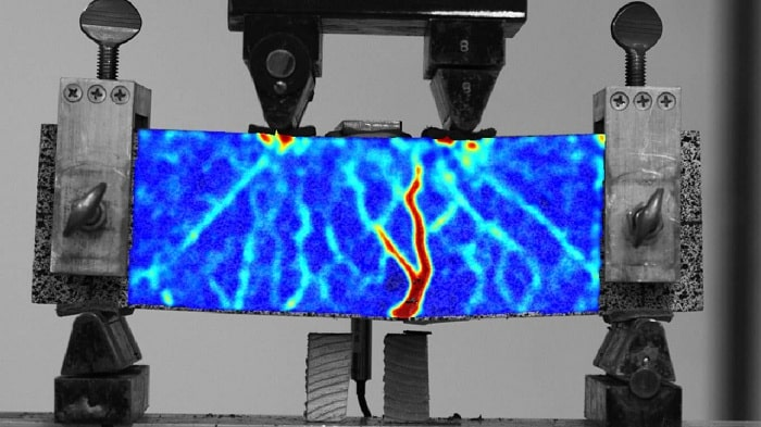 Concrete reinforced with 3D-printed polymer four times stronger