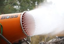 BossTek releases new compact dust suppression design for increased mobility and versaitility in construction