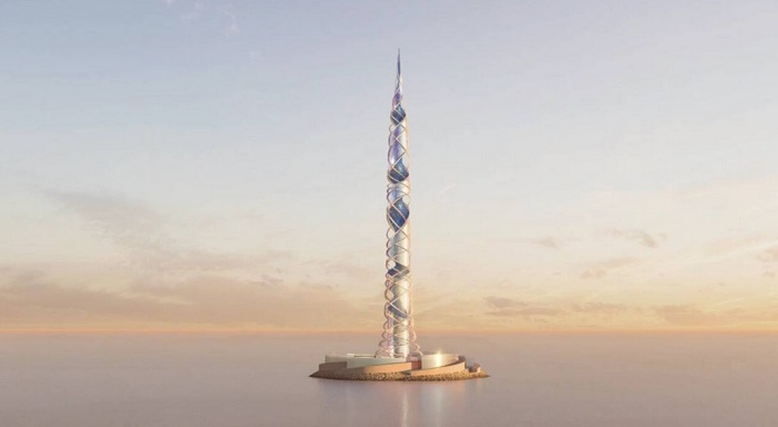 Scottish architect Kettle Collective designs worlds second tallest tower for Russia