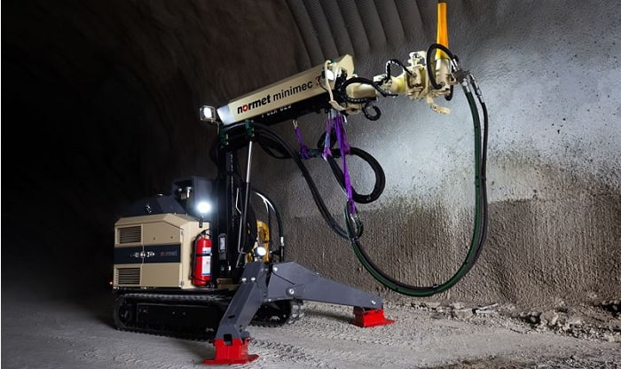 Normet launches new technologies for concrete spraying