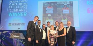 Balfour Beatty win the Construction News awards