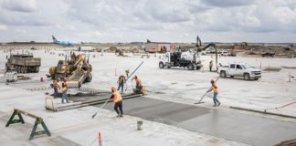 High-tech, low-carbon concrete project a Canadian first at Calgary International Airport
