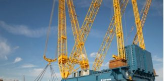 Sarens launches new electric ring crane for heavy lifts