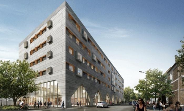 ISG Cardiff Uni science building