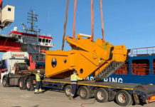 Delivering the World's Largest Crane
