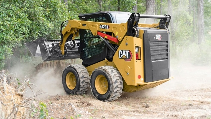 Caterpillar Rolls Out New Cat D3 Series Skid Steer and Compact Track Loaders