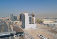 Azizi Developments achieves 85% construction progress at Aura