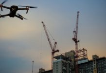 This U.S. construction firm is raising buildings via drone