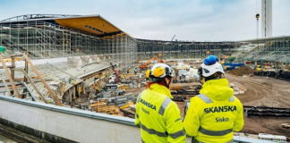 Skanska keeps university project running despite COVID-19 challenges