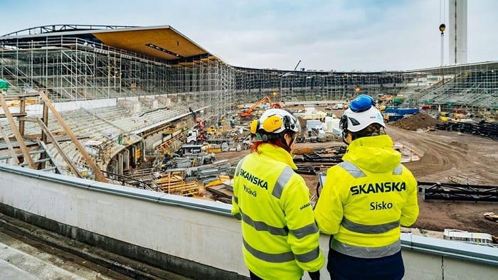 Skanska keeps university project running despite COVID-19 challenges