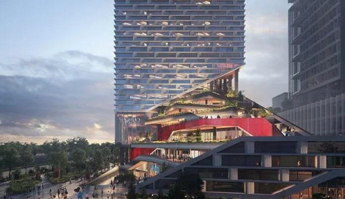 NBBJ unveils images of spiral garden tower in Shenzhen