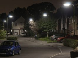 Smart lighting will help social distancing through UK streetlights