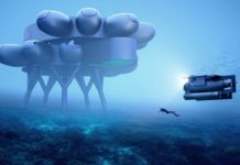 Jacques Cousteau's grandson unveils design for 375 sq m