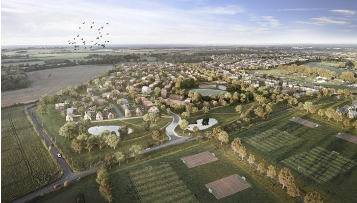 Joint venture deal signed for £1.2bn Hampshire housing site