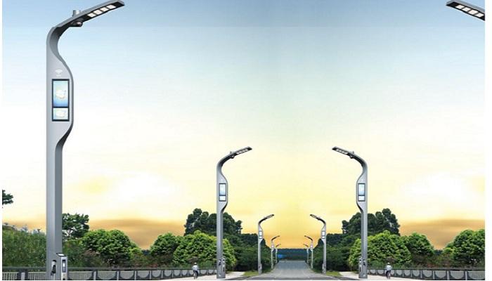 China's smart light pole market to hit 117.6 billion yuan by year end