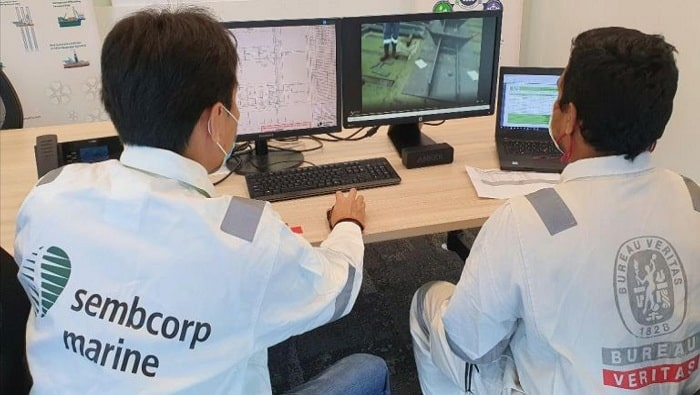 BV, Sembmarine, Nokia complete trial of remote surveys on newbuilding construction