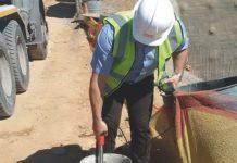 PERI sensors to slash concrete test times on construction site