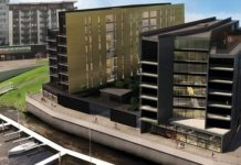Structural engineering software assists design on Bayscape building