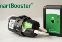 Giatecs SmartBooster extends Bluetooth signal range to collect concrete data from up to 50 percent further away