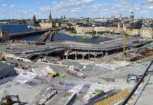 BUMAX selected by global construction leader Skanska to supply fasteners for the prestigious Slussen project