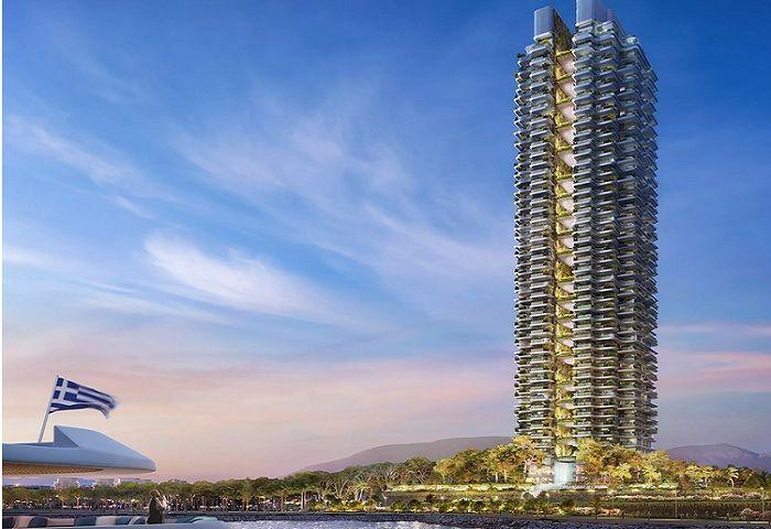 Foster + Partners design Greeces tallest building