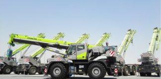 ZCC3000 Crawler Crane