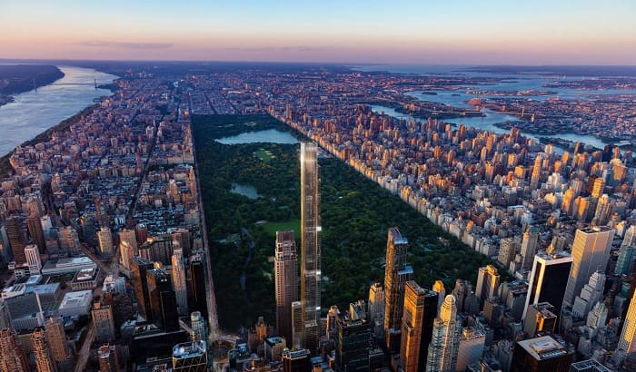 Central Park Tower becomes world's tallest residential build