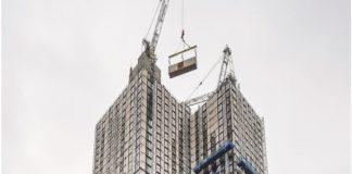 Final pod placed on World's tallest modular resi tower