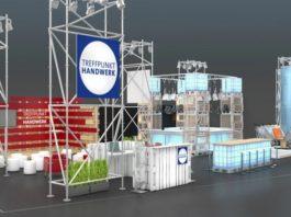 Treffpunkt Handwerk  trades hub at DOMOTEX 2020