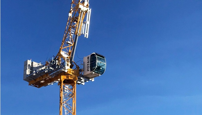 Potain targets high rise and home building at CONEXPO, launches MRH 175 tower crane
