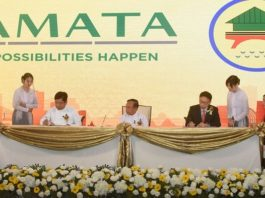 Agreements signed for Yangon Amata Smart and Eco City project