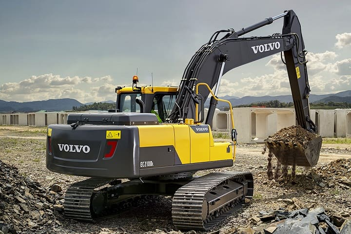 Volvo construction equipment's latest excavator for emergent markets