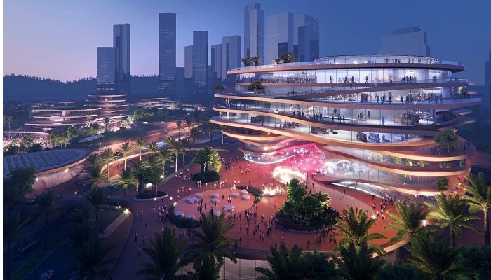 MVRDV wins competition to design mixed-use centre in China