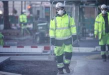 UK construction firms split over coronavirus shutdown