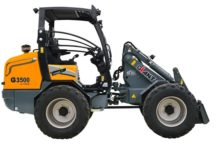 Tobroco-Giant reveals new 3.5 ton G3500 X-tra compact loader for construction